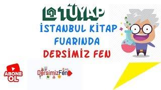 TÜYAP İstanbul Kitap Fuarında/ Dersimiz Fen VLOG