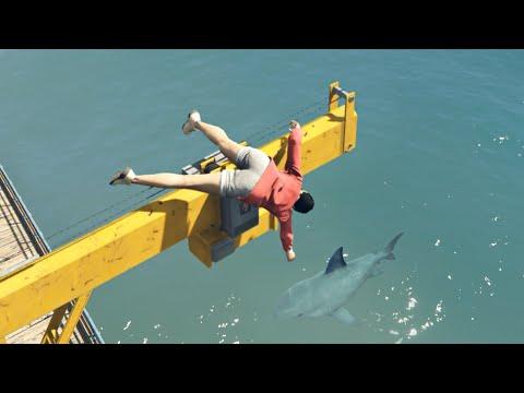 GTA 5 Crazy ragdolls compilation vol11 Euphoria physics  Funny Moments
