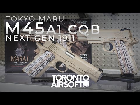 Here's why the new M45a1 is Tokyo Marui's best 1911 yet - TorontoAirsoft.com