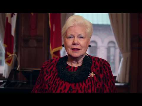 Here's My Canada: Lieutenant Governor of Ontario the Honourable Elizabeth Dowdeswell
