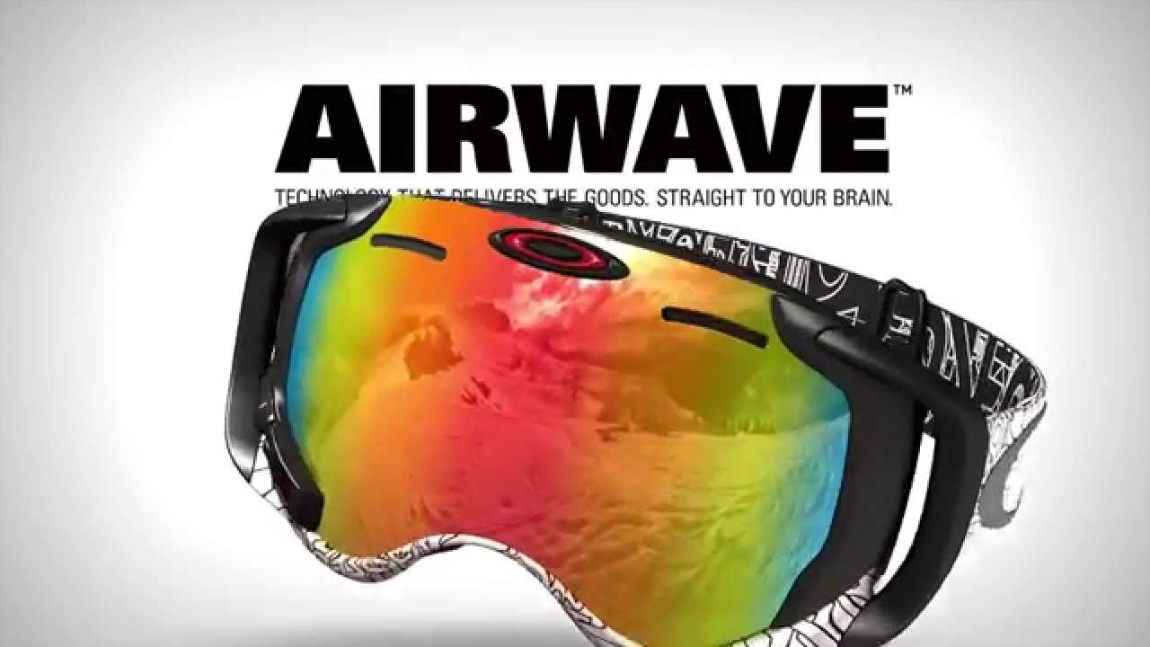 603c3f6d362 Oakley Airwave GPS Enabled Goggle - YouTube