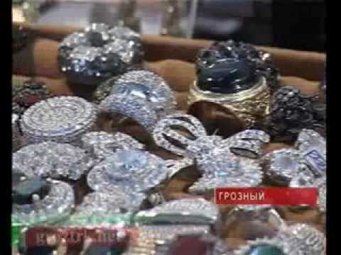 В Грозном проходит выставка драгоценных камней Чечня.