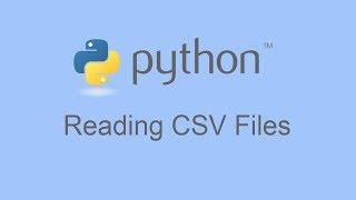 Reading CSV Files In Python