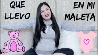 LISTA PARA EL HOSPITAL! Que llevo En Mi Maleta y En la Del Mi Bebe Para el Hospital! MakeupLover67