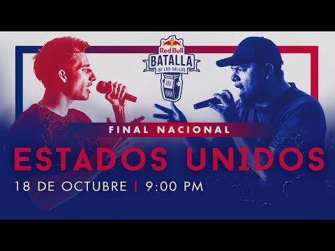 Final Nacional Estados Unidos en vivo | Red Bull Batalla de los Gallos