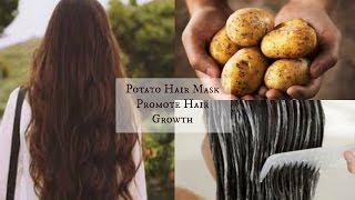 DIY Potato Hair Mask   Promote Hair Growth