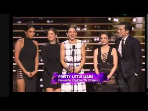 People Choice Awards 2016 Pretty Little Liars Won Fav Cable TV Drama