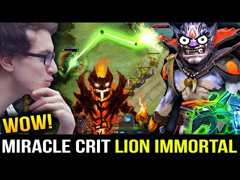 MIRACLE SF ft Hell-Spar Anathema LION by CRIT CRAZY MONSTER Dota 2