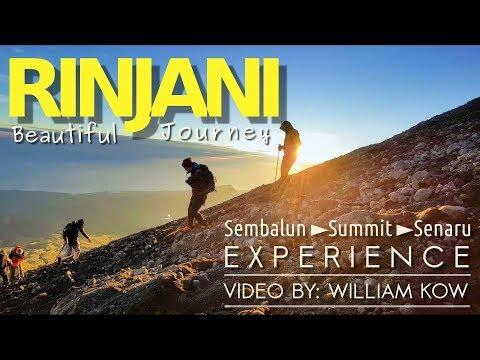 Mount Rinjani - Beautiful Journey (Full HD), Route distance & altitude