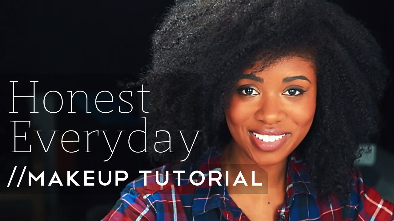 Honest Everyday Makeup Tutorial | Akilah Obviously
