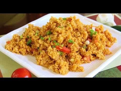 How to make Mexican Brown Rice Video Recipe by Bhavna