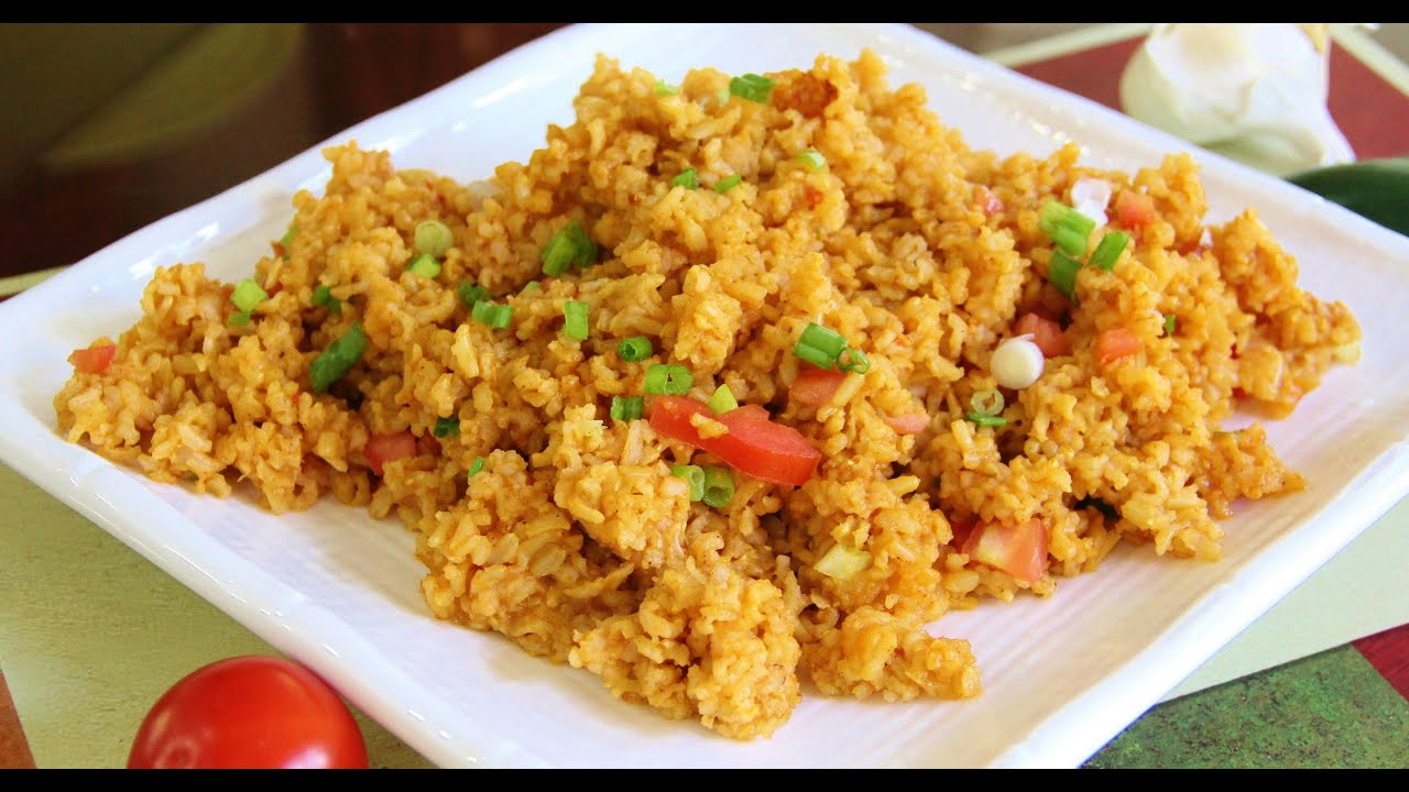 How to make mexican brown rice video recipe by bhavna youtube how to make mexican brown rice video recipe by bhavna ccuart Image collections