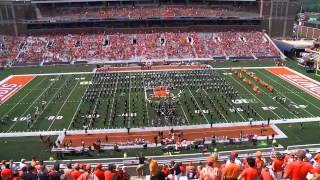 Marching Illini Halftime:  Music of The Who   August 31, 2013