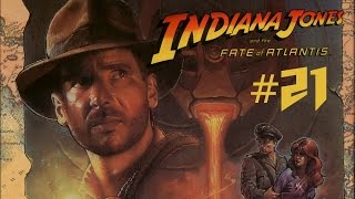 Indiana Jones and the Fate of Atlantis #21 - Un centinela tocanarices y una jaula improvisada