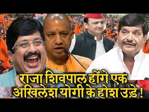 Raja Bhaiya और Shivpal 2019 चुनाव में कर सकते है गठबंधन ! Shivapal ने दिया संकेत