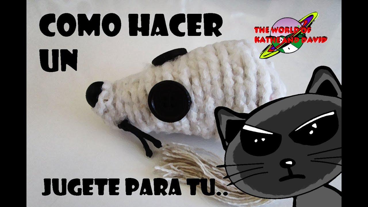 Como hacer un juguete para tu gato raton de lana - Como hacer un dosel para cuna ...
