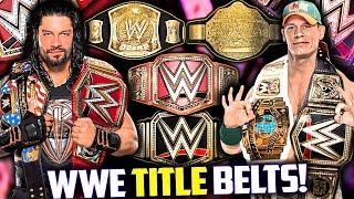 WWE Title Belts 1963-2018 Quiz!