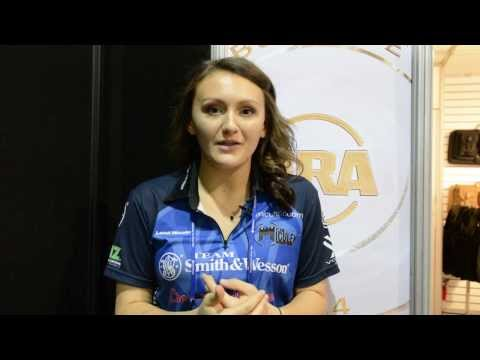 SHOT Show 2014 - Lena Miculek Encourages Women to Get Involved in Shooting Sports