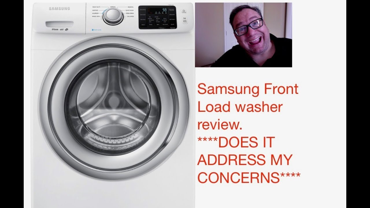 Samsung Front Load Washer Samsung Front Load Washer Review Wf42h5200aw