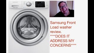 SAMSUNG FRONT LOAD WASHER REVIEW WF42H5200AW
