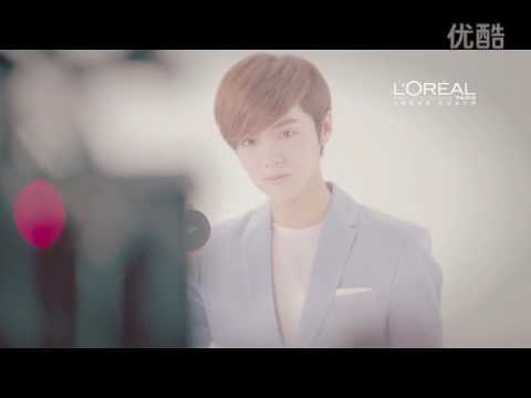 Campaign For Loreal Paris With Chinese Popstar LuHan