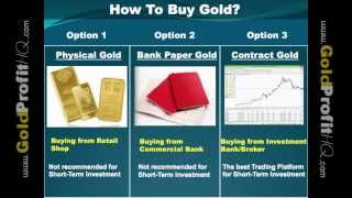 Investing In Gold - Profiting From Gold Market | Gold Future Contract | Gold Spot Price