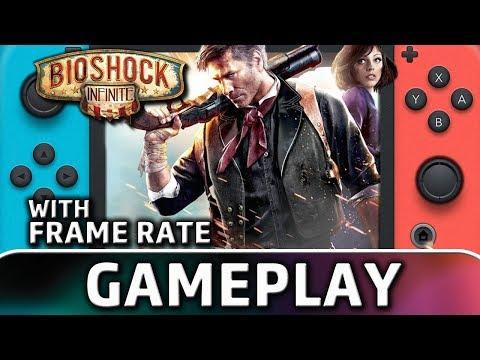 BioShock Infinite   Nintendo Switch Gameplay & Frame Rate