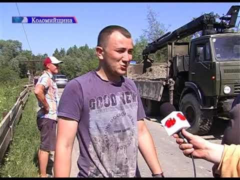 ТРК РАІ: На Коломийщині люди почали самотужки ремонтувати міст через Пістиньку