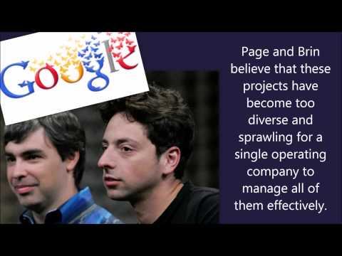 Alphabet Inc, Google's New CEO Sundar Pichai -  Everything Explained