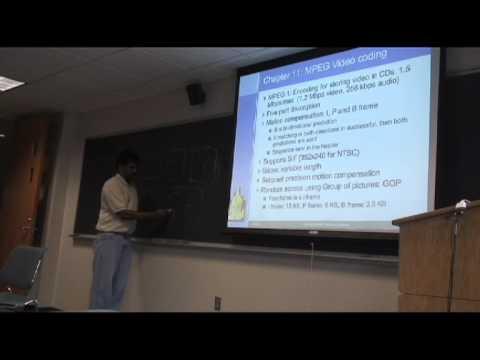 MMS-FA06: Lecture 4: Basic Video Compression Techniques