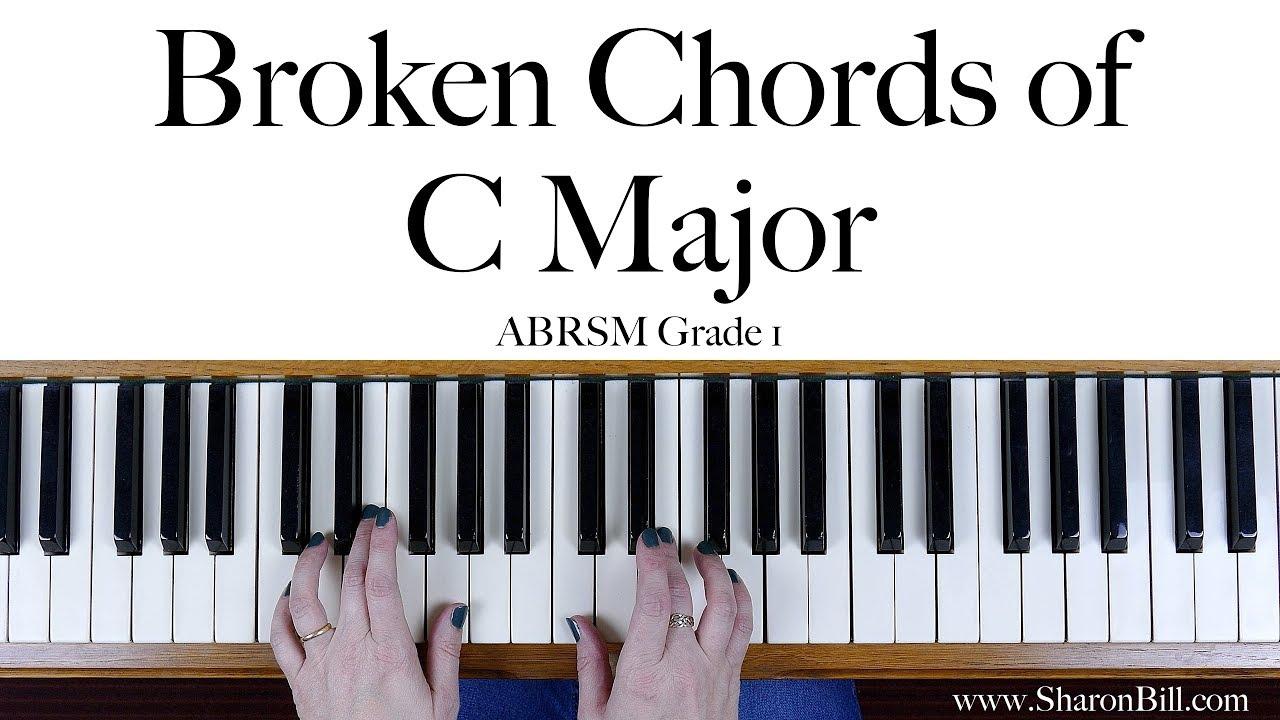Abrsm grade 1 broken chords in c major right hand and left hand abrsm grade 1 broken chords in c major right hand and left hand hexwebz Images
