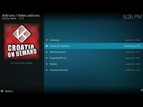 KODI_Croatia on DEMAND+Exodus