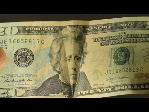 Awesome 20 Dollar Bill Illusion!