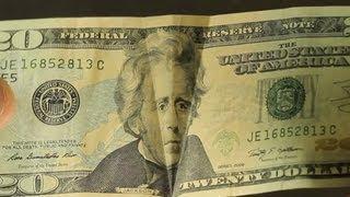 Awesome 20 Dollar Bill illusion!