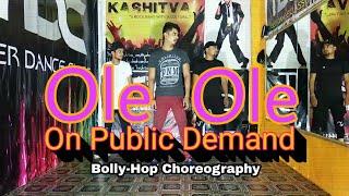 Ole Ole hip hop song dance choreography | Bolly hop steps | TDC |SSR
