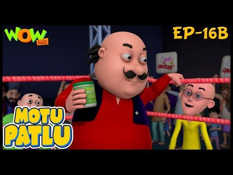 Kids  Motu Patlu Cartoon For Kids  Ep 16B  Kids s  Wow Kidz