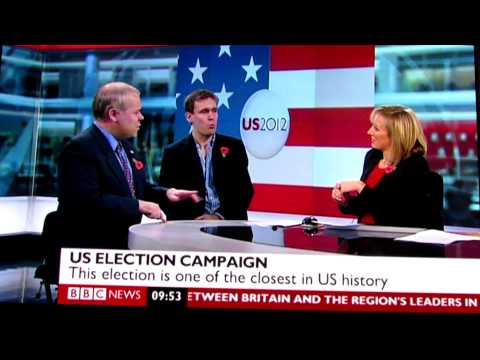 2012 US Presidential Election - BBC News debate - Romney or Obama?