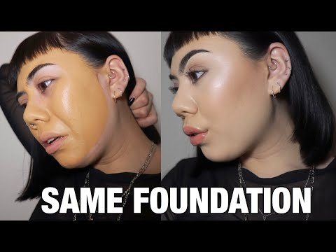 HOW TO MAKE ANY FOUNDATION MATCH YOUR SKIN | complexion tutorial | foundation tutorialYouTube