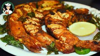 Tiger Prawn Recipe  Prawn fry recipe  Tiger prawn fry  Jumbo prawns recipe  South Indian Samayal