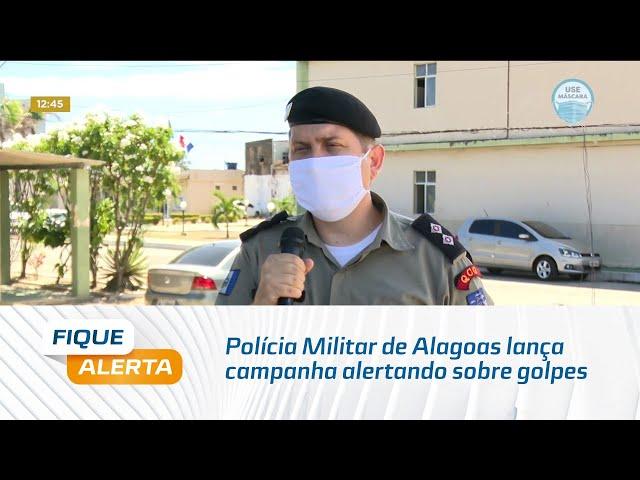 Polícia Militar de Alagoas lança campanha alertando sobre golpes na plataforma Pix