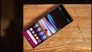 نظرة على الهاتف Xperia 1 و Xperia 10 و Xperia 10 Plus