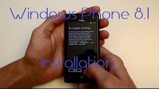 Windows Phone 8.1 installieren: so gehts!! - deutsch / german - Full HD