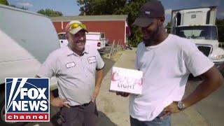 Beer delivery men save the life of potential bridge jumper