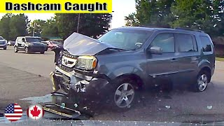 Ultimate North American Cars Driving Fails Compilation - 200 [Dash Cam Caught Video]