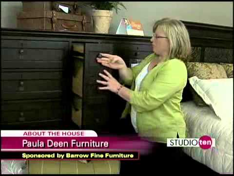 Review Of Paula Deen Bedroom Furniture   (w/ BarrowFurniture)   YouTube
