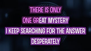 One Great Mystery (Karaoke Version) - Lady Antebellum   TracksPlanet