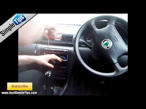 Radio Installation: Skoda Octavia (1996-2004) | JustAudioTips - YouTube