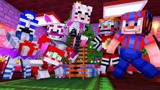 Family reunite for the Holidays! [Ep.11] (Minecraft Fnaf Daycare)