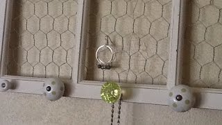 Create a Trendy Chicken Wire & Knob Hanging - Home - Guidecentral