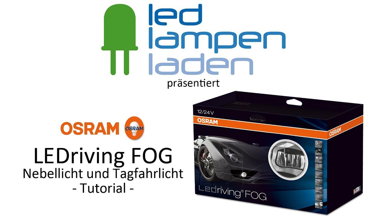 osram led lampen video tutorial osram ledriving fog. Black Bedroom Furniture Sets. Home Design Ideas